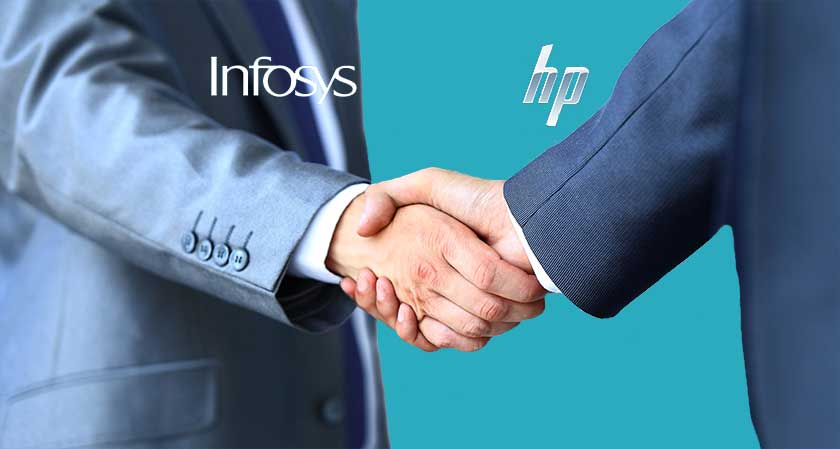 siliconreview Infosys shook hands with HP in order to proffer new enterprise service