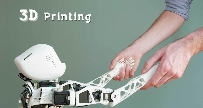siliconreview A troop introduces 3D printing to create soft robotic hand