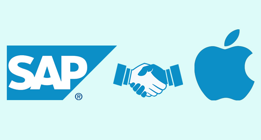 siliconreview Apple shook hands with SAP to launch a tool aimed at building business apps