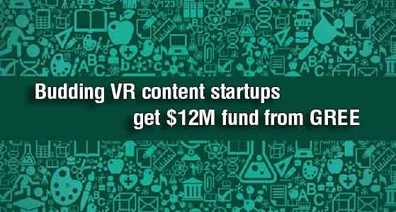 siliconreview Budding VR content startups get $12M fund from GREE