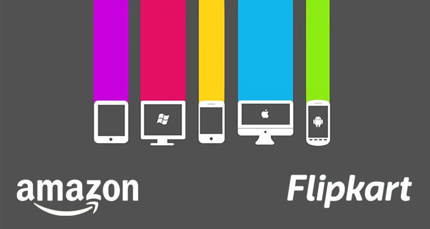 E-commerce giants Flipkart & Amazon making space for gigantic gadgets