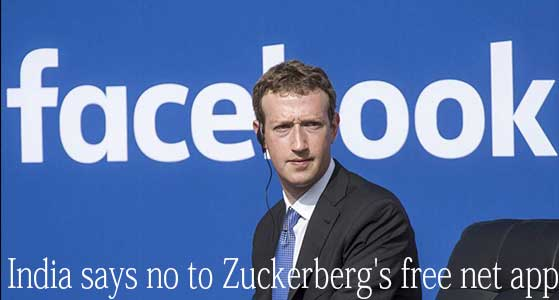siliconreview India says no to Zuckerberg's free net app