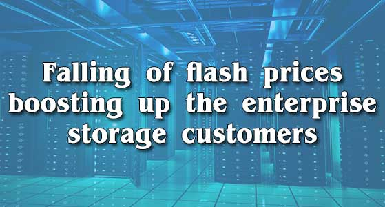 siliconreview Falling of flash prices boosting up the enterprise storage customers