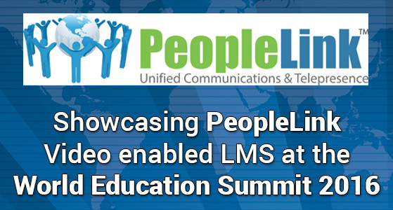 siliconreview Showcasing PeopleLink Video enabled LMS at the World Education Summit 2016