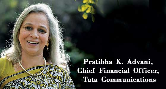 Meet an Enthusiastic Financial Expert Formulating Top-Notch Financial Strategies- Pratibha K. Advani, Chief Financial Officer, Tata Communications