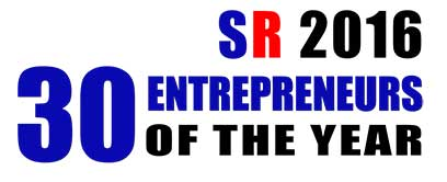 30 Entrepreneurs of the Year 2016 Listing