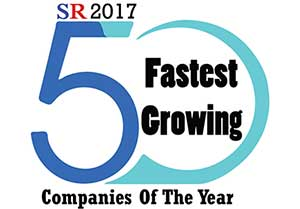 50 Fastest Growing Companies of The Year 2017 Listing