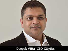 thesiliconreview Deepak Mittal, XtLytics: Entrepreneur of the Month
