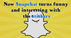 siliconreview-now-snapchat-turns-funny-and-interesting-with-the-stickers