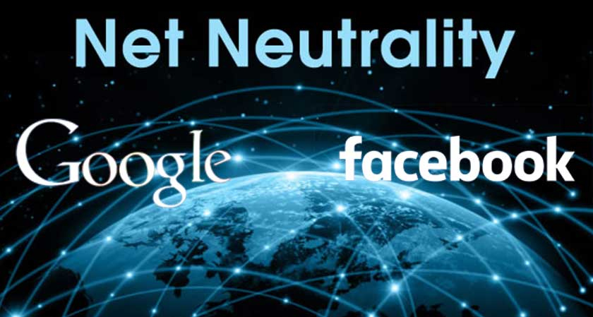 Giant Google & Facebook to unite with 'US Net Neutrality' protest on July 12