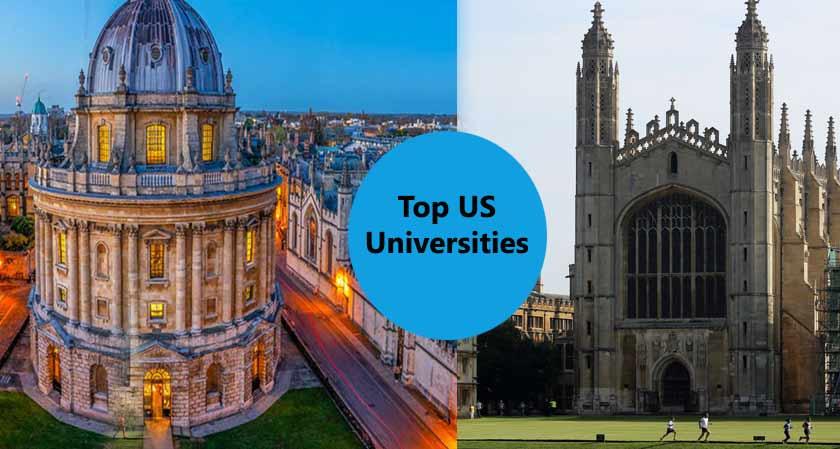 Oxford and Cambridge Overtake Top US Universities to Rank among Top Three