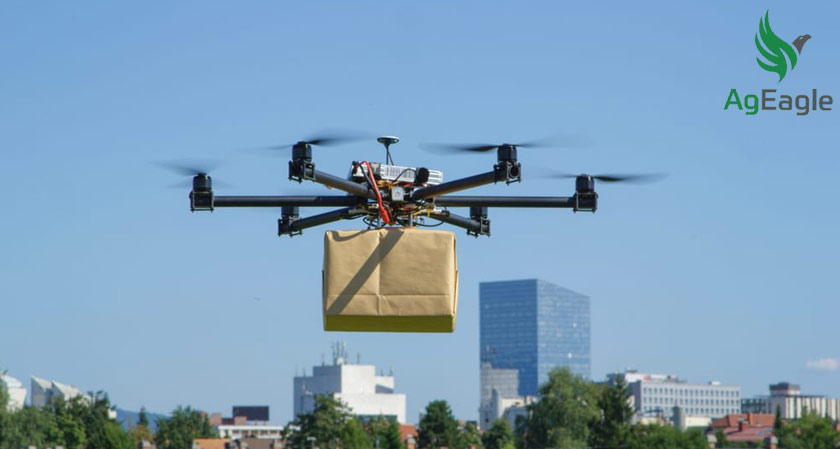 AgEagle Aerial Systems and Valqari partners to develop a new drone to deliver food and beverages