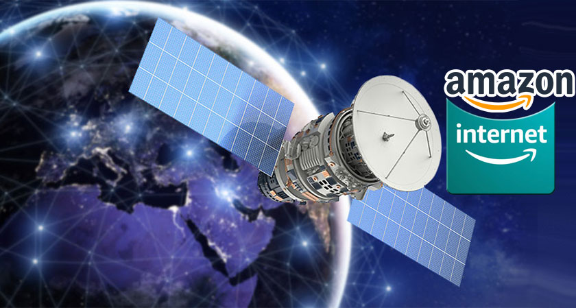 Amazon intends to Loft Internet Satellites into Space: Files Application to FCC