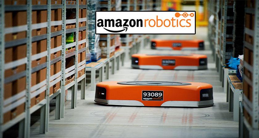 Amazon unveils new pair of Warehouse Robots