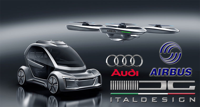 siliconreview Audi, Airbus and Italdesign unveil plans for autonomous flying taxis