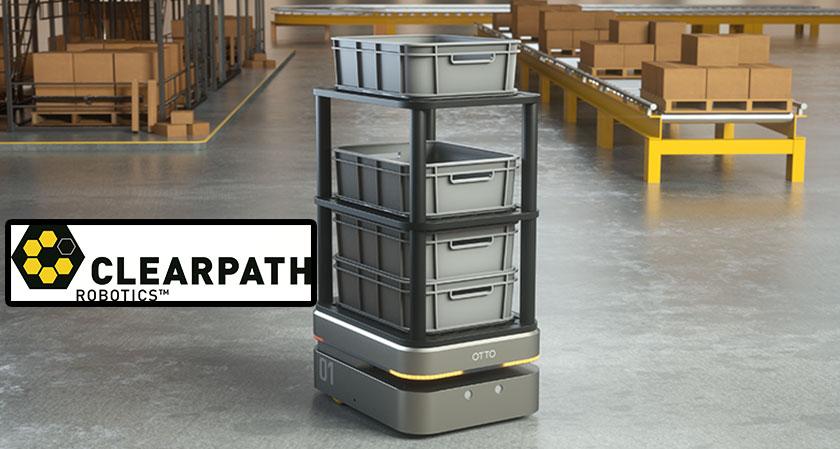 Clearpath Robotics unveils new Autonomous Warehouse Robot