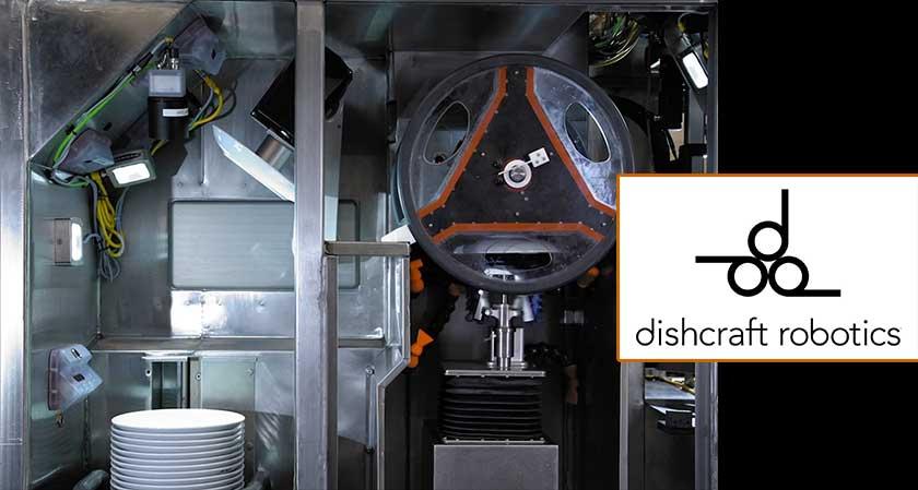 Dishcraft Robotics unveils new Robotic Dishwashing System