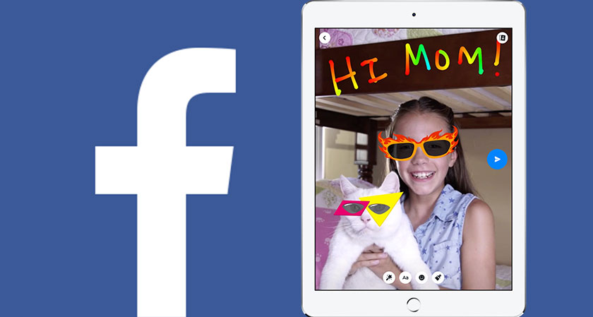 siliconreview Facebook's all-new messenger kids app