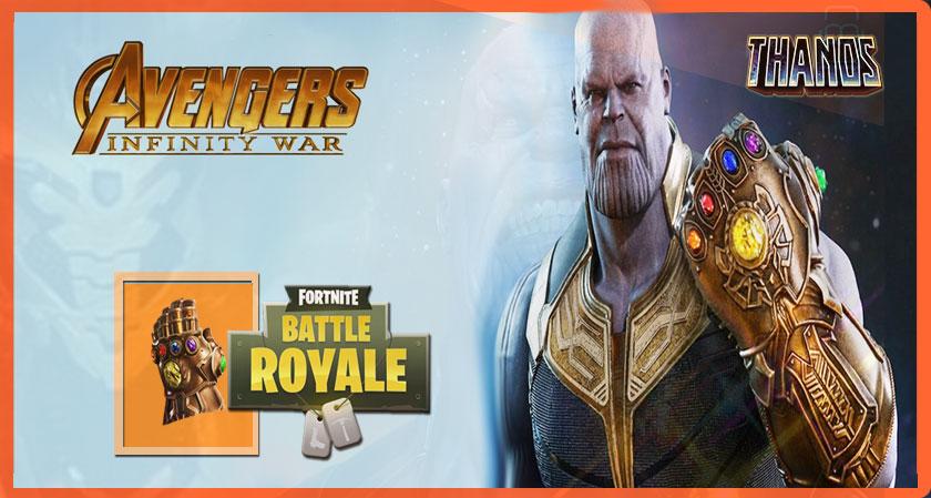 Avengers: Infinity War's Thanos Enters Fortnite: Battle Royale