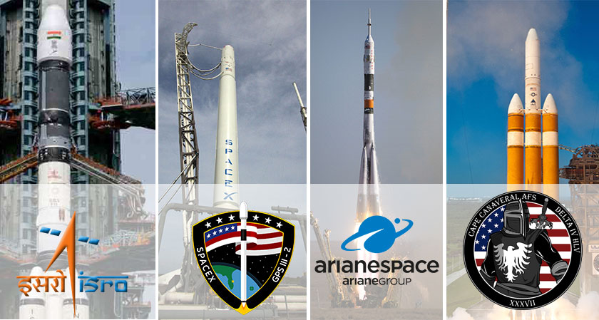 Four rocket missions are all set for take-off today