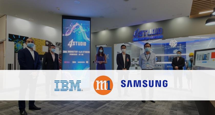 IBM, Samsung, and M1 unveils cutting-edge 5G Industry 4.0 Studio