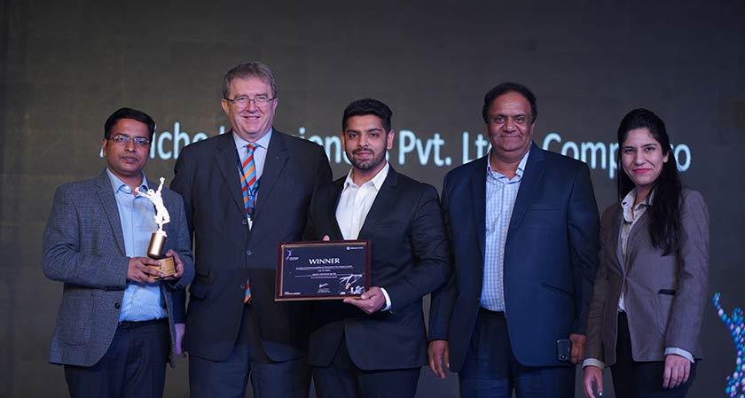 Alniche Life Sciences wins award at CPHI - India Pharma Awards 2019