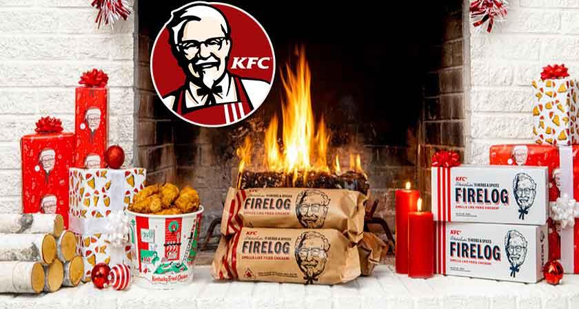 KFC releases annual Yule log