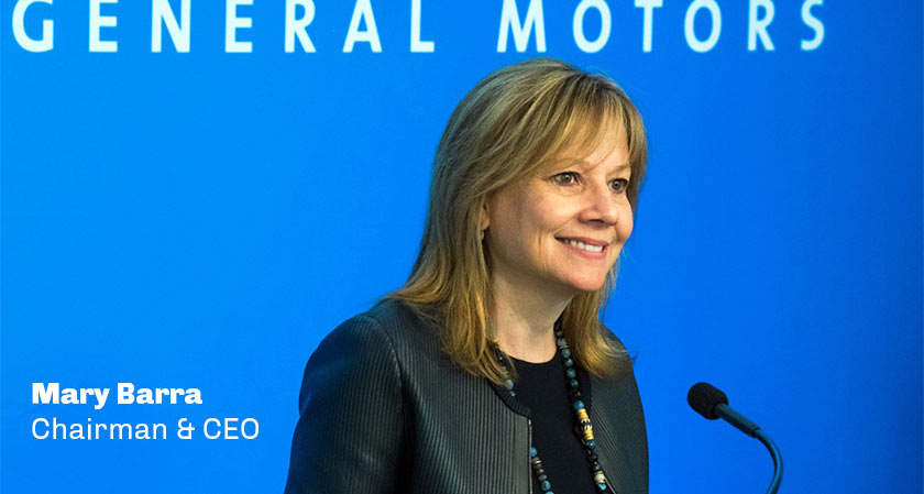 """If you do every job like you are going to do it for the rest of your life, that's when you get noticed,"" says Mary Barra, the chairman, and CEO of General Motors"