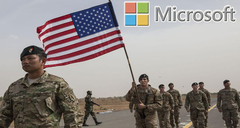 siliconreview Microsoft to give complete access of its tech to the military