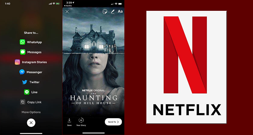 siliconreview Now you can share what you are binge-watching on Netflix as your Instagram Story