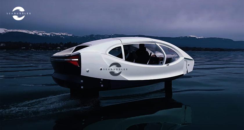 E-boat Maker SeaBubbles successfully Test a New Boat