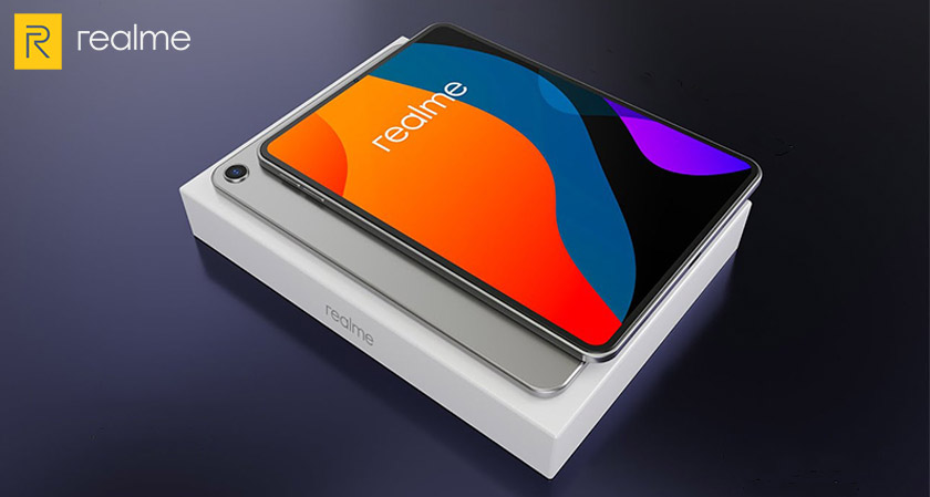 The new Realme Pad is teased to come with a bigger display and aluminum unibody