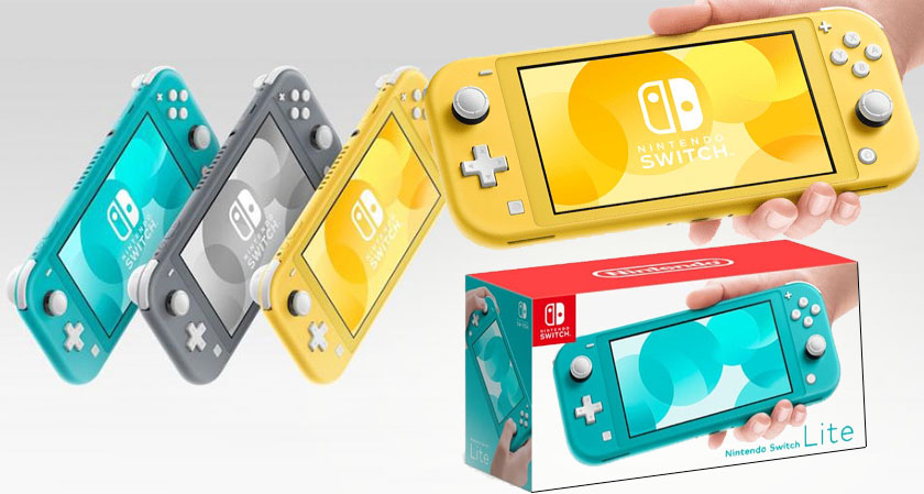 Nintendo Rolls Out Switch Lite: An Exclusive Device For Handheld Gaming