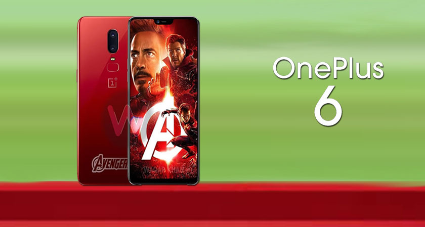 siliconreview OnePlus 6 - Limited Edition of Marvel Avengers Theme Now Out In the Market