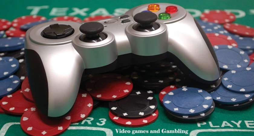 The relation between video games and gambling