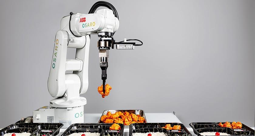 New robotic gripper technology that mimics human transforming the Food Sector