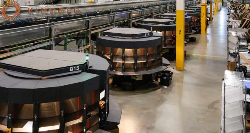 US-based Kindred SORT AI Robots Pick 100 Million retail Units
