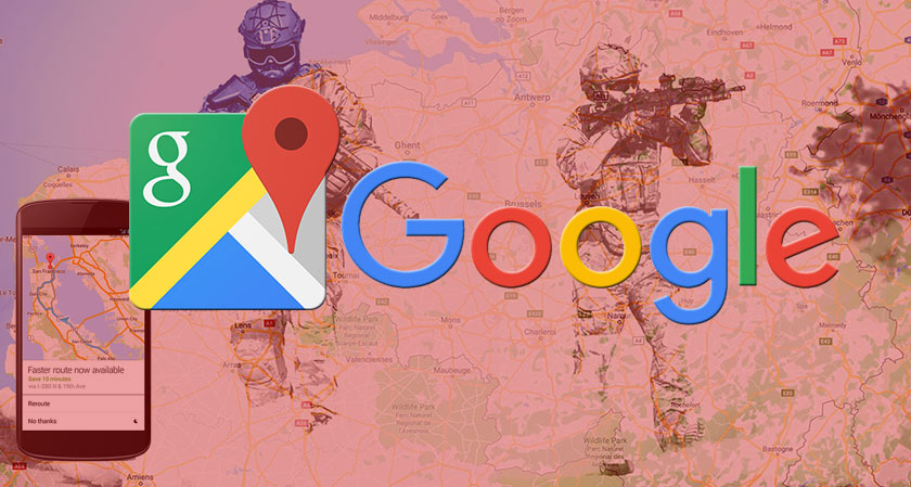 siliconreview Satellite Mapping Services: Google Faces Heat After it Skips to Blur Images of Belgium Defense Sites