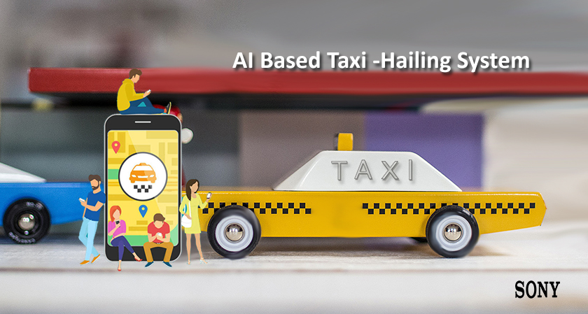 Sony Corp. will develop an AI-based taxi-hailing system in Japan