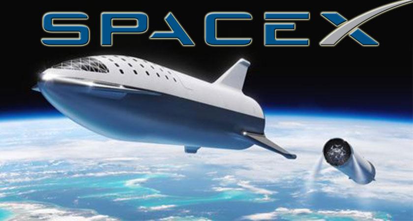 siliconreview SpaceX Renames its Big Falcon Rocket Spaceship