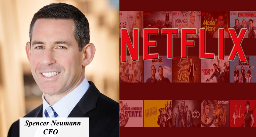 Spencer Neumann Replaces David Wells as Netflix's New CFO