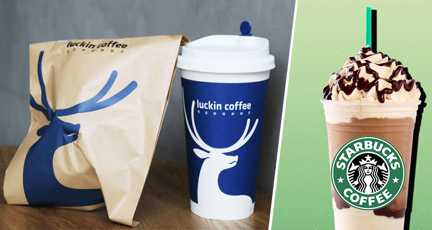 siliconreview Starbucks's biggest rival Luckin Coffee just filed for an IPO