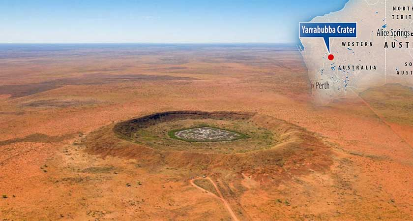 2.229 Billion Year Old Yarrabubba Crater is Oldest Known Crater
