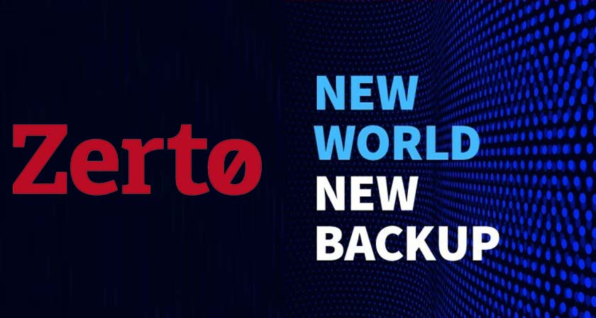 Zerto's launches new three new products for SaaS, Kubernetes, and the AWS cloud