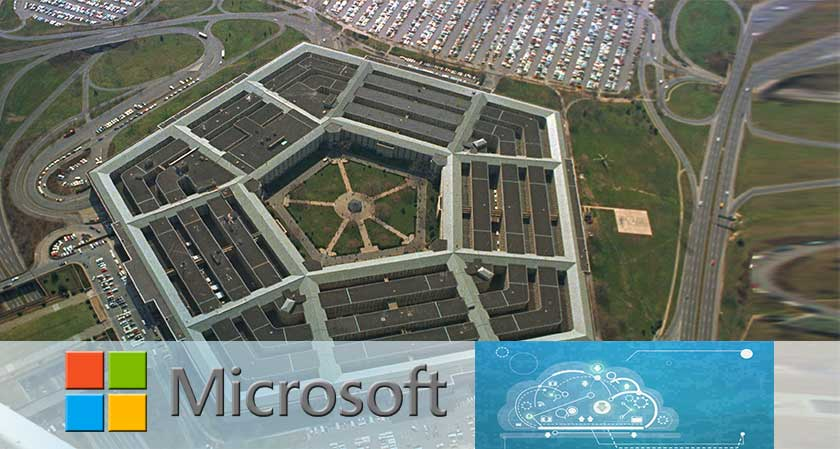 Microsoft to bid for the Pentagon's JEDI cloud contract