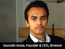 india thesiliconreview saurabh arora airwoot