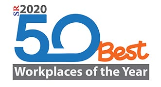 50 Best Workplaces of the Year 2020 Listing