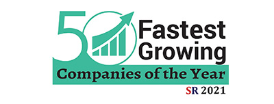 50 Fastest Growing Companies of the Year 2021 Listing