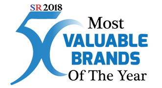 50 most valuable brands of the year 2018