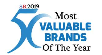 50 Most Valuable Brands Of The Year 2019 Listing